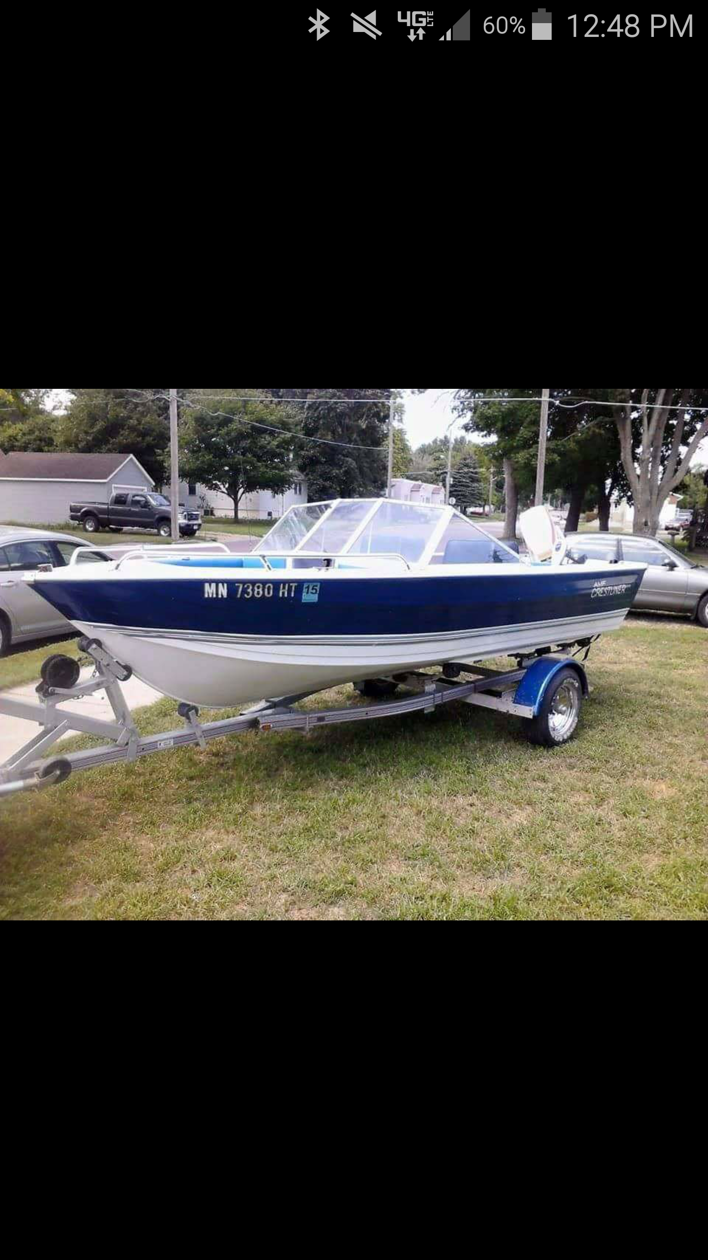 1978 crestliner nordic 70 hp free listing for sale list for Lifetime fishing license mn