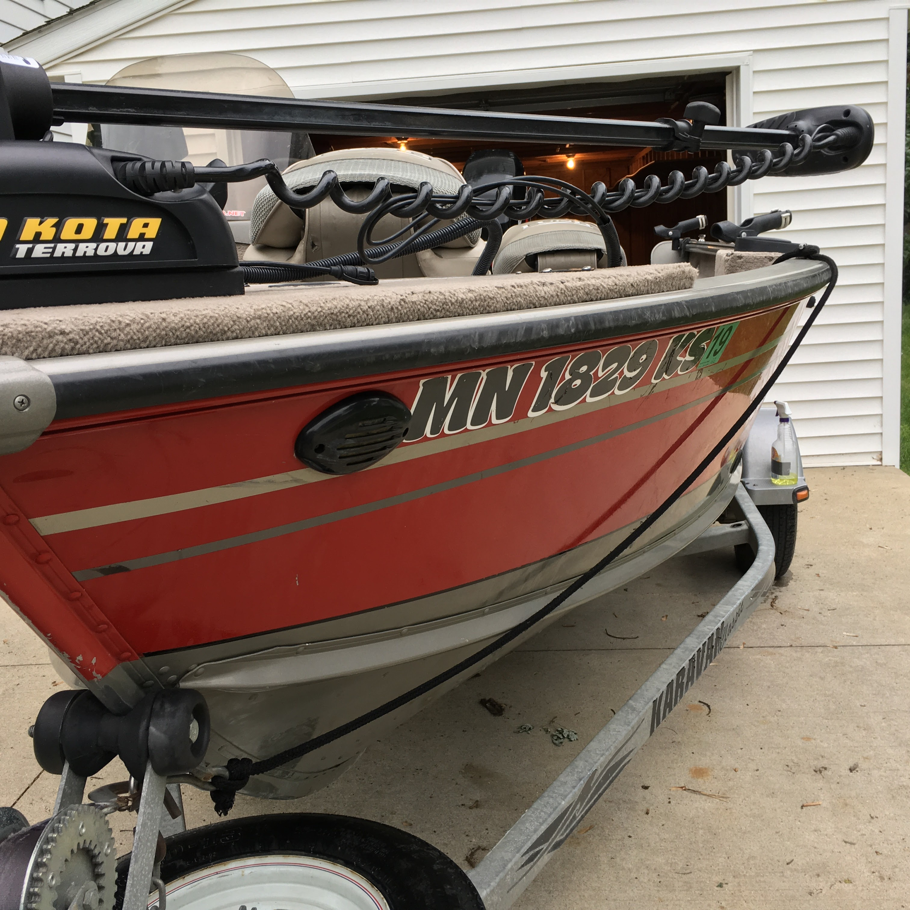 2005 Lund Explorer 1600 with Merc 60HP 4-Stroke efi - Fully Loaded