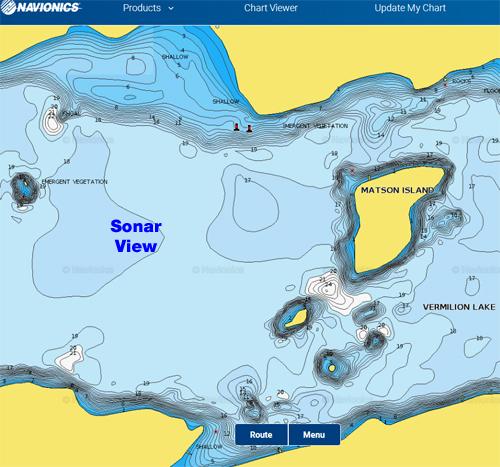 Navionics - Nautical Chart, Sonar Chart - Vermilion-Pelican