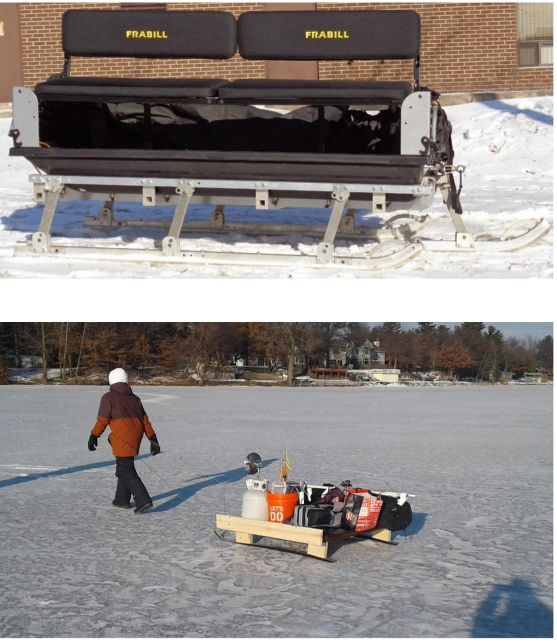Sled Pulling Harness - Ice Fishing Minnesota - Outdoor