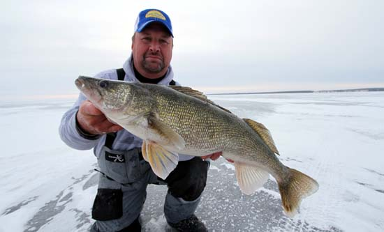 ice fishing tips for walleye known tips and strategy
