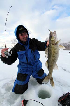 Ice fishing tips for walleye known tips and strategy for Ice fishing plastics