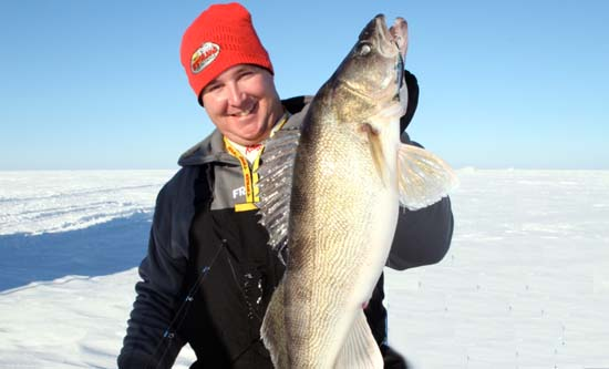 Information about ice fishing for North dakota ice fishing reports