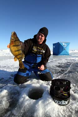 Ice fishing perch jumbo perch talk ice fishing deviuls for Devils lake fishing forum