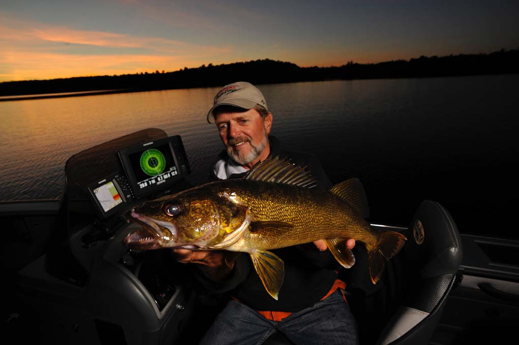 "Lindner ""Goes Green"" On Summer Walleyes - Fishing Minnesota ... Walleye Fish"