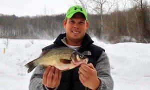 Michigan State Record White Perch
