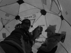 Ice Fishing With My Baby Girl – Take a kid fishing!