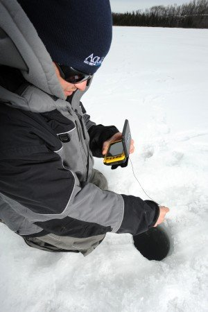 """(Photo by Bill Lindner Photography) – """"Anglers using portable underwater cameras often discover unknown hot-spots."""""""