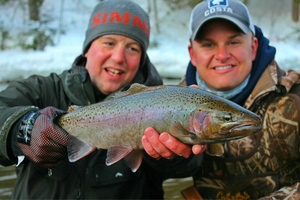 Winter Trout in Minnesota