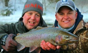 Fishing for Winter Trout - Minnesota