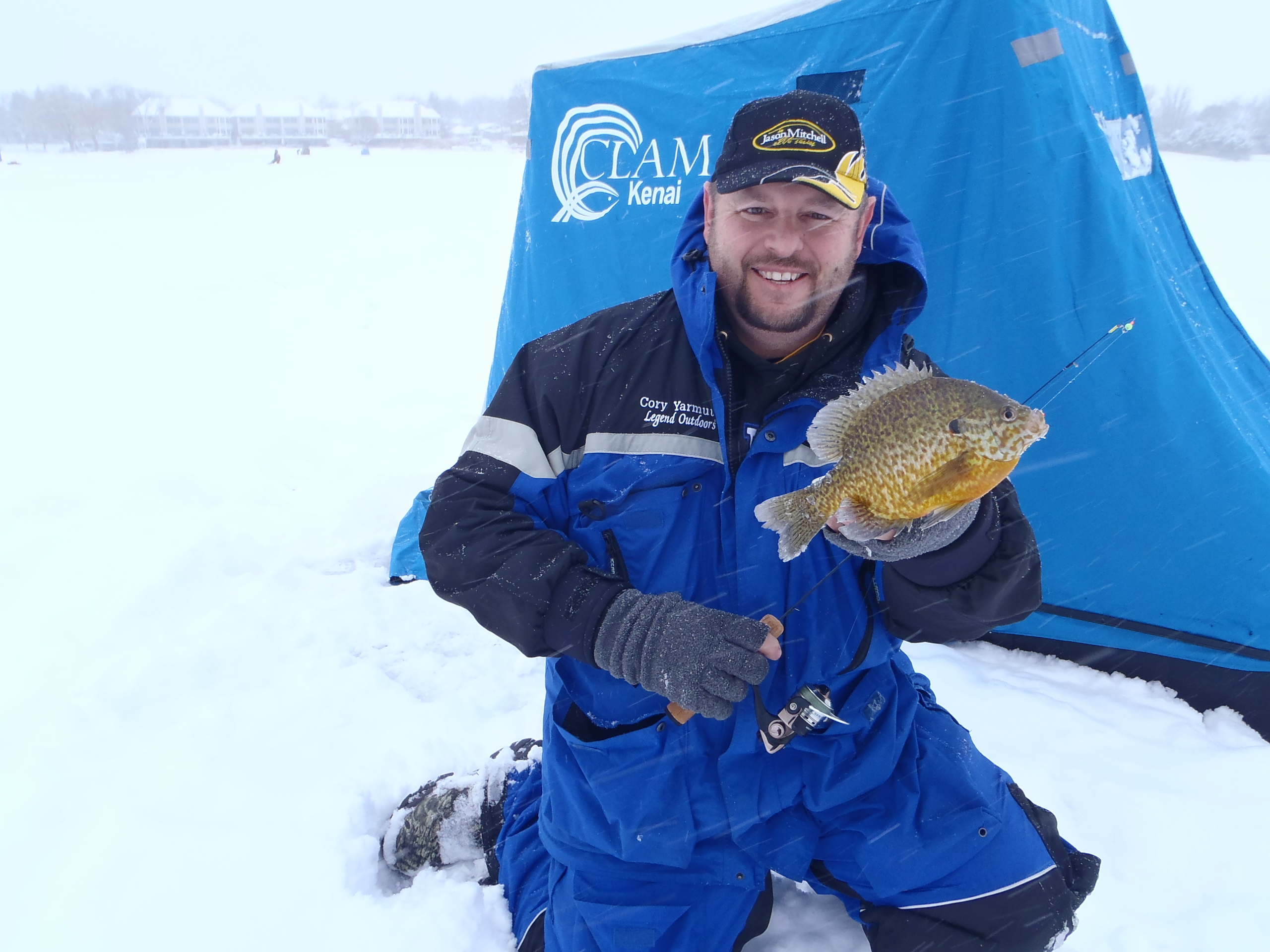 Mobility on the ice the way to stay on fish fishing for South dakota ice fishing guides