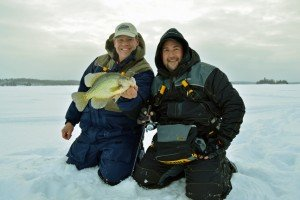 Hop, Drop and Troll For The Best Minnesota Slab Crappies – Ice Fishing