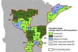 New MN DNR deer population goals established