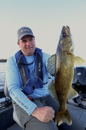 Jason Mitchell walleye