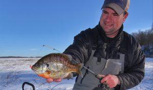 The Skinny on Bulls – Late Season Panfish Ice Fishing Adjustments